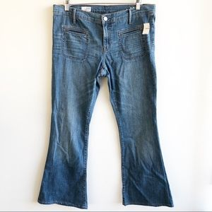 NWT GAP 1969 Flare jeans